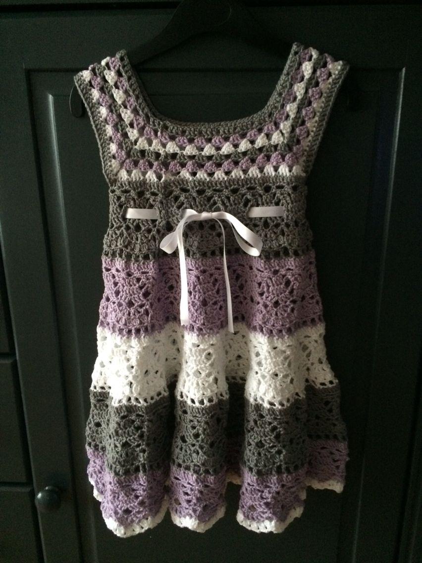 Jurkje Maat 92 Gehaakt Voor Mijn Kleindochter Haken Crochet