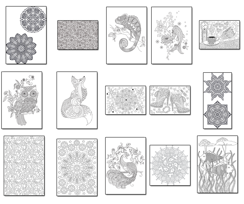 15 Coloring Pages For 1 V31 The Coloring Book Club Free Coloring Pages Coloring Pages Coloring Books
