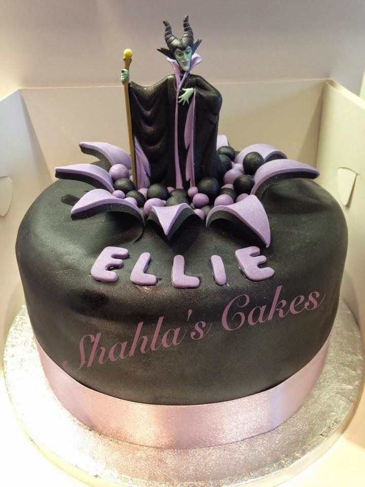 maleficent cake - Google Search
