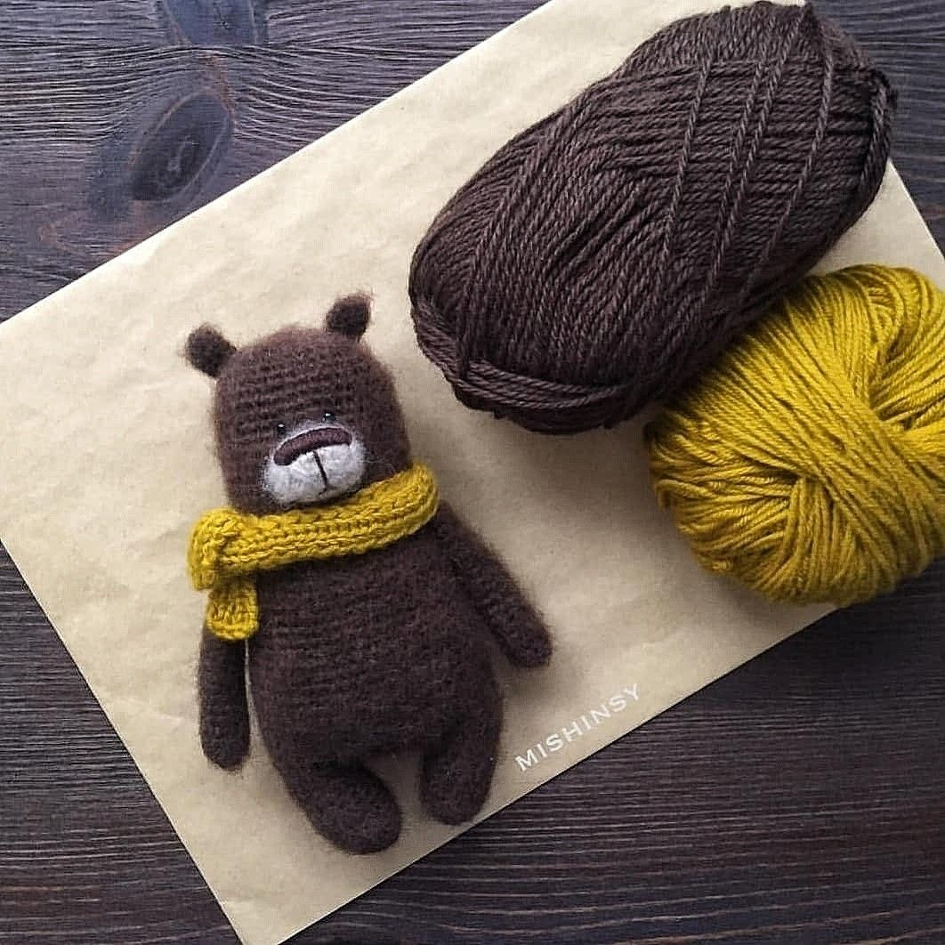 Bear Patrick pattern by @mishinsy #crochetbear