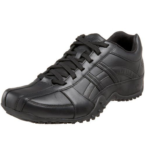 Skechers for Work Men's Rockland Systemic Lace-Up
