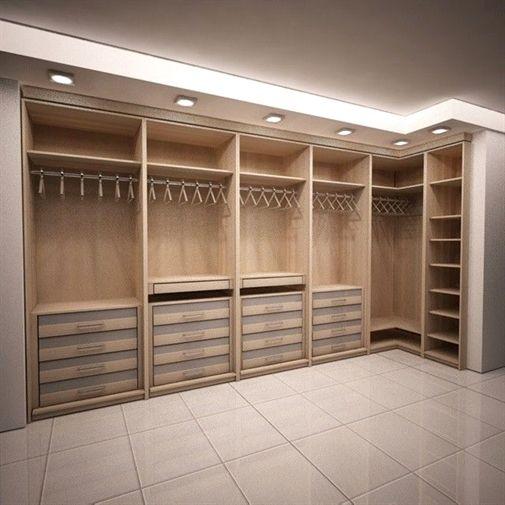 marvelous bedroom closet interior design | Master Bedroom Closet Design | Sleek Modern Dark Wood ...