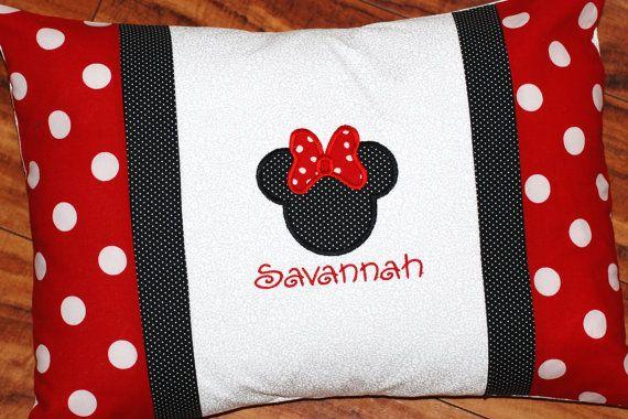 Disney Minnie Mouse pillow case pillow