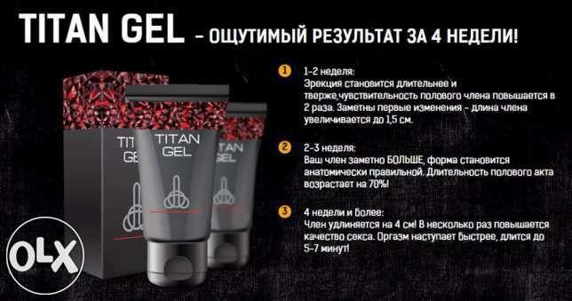 Гель для увеличения пениса Titan Gel (Украина, Россия, Беларусь ...