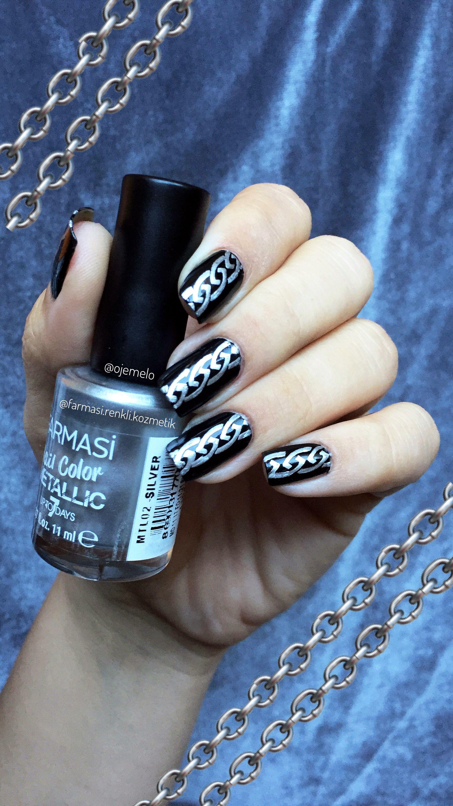 Farmasi Metallic Nail polish silver nails   my nails   Pinterest ...