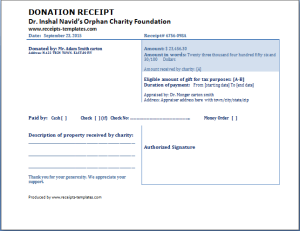 Donation Template Entrancing Donation Receipts At Httpwww.receiptstemplatesdonation .