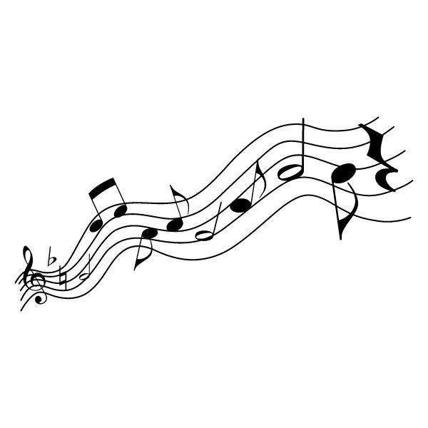 Note de musique stickers notes de musique achetez en - Note musique dessin ...