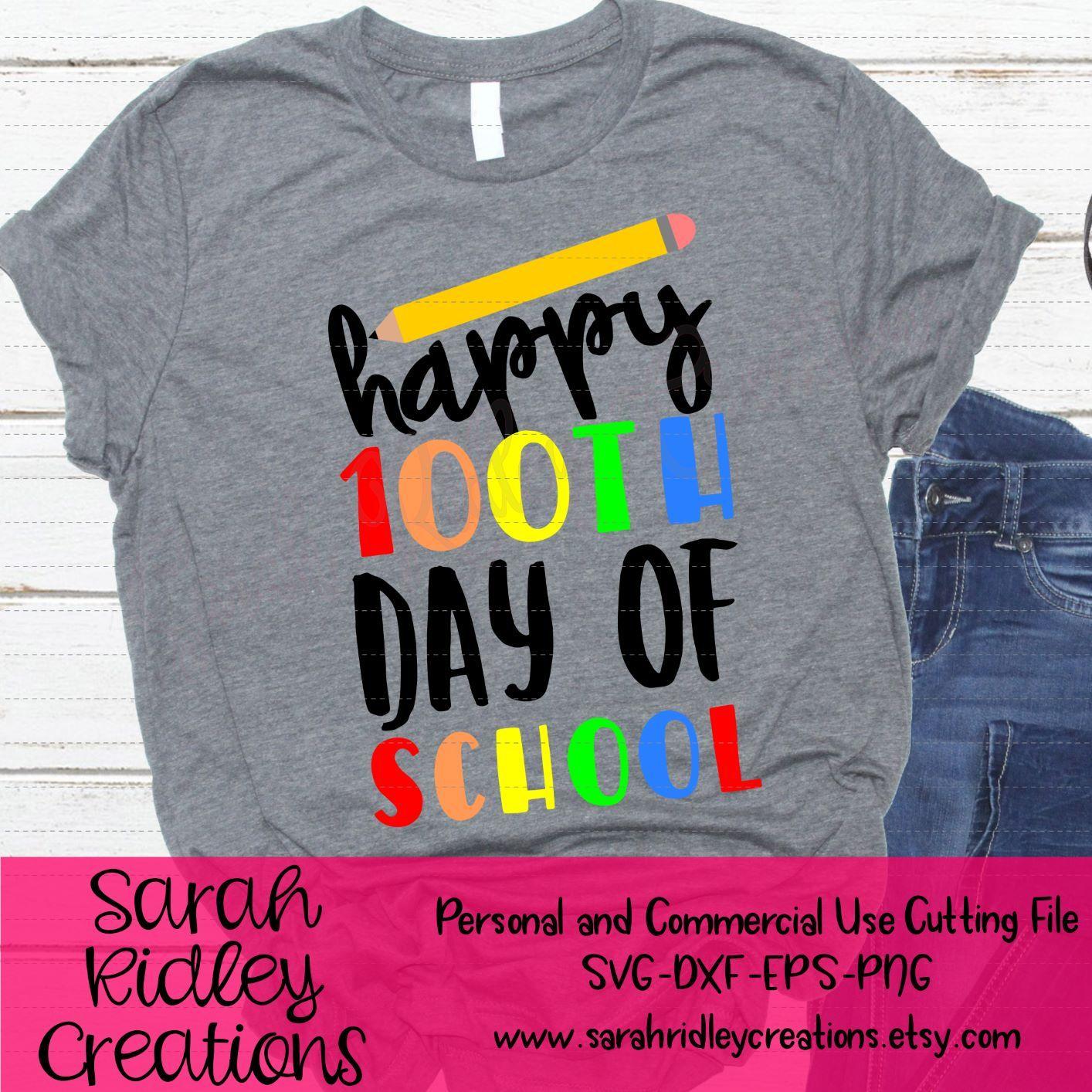 school svg 100 days svg Hip Hip Hooray It/'s 100th Day svg Funny Kids svg 100 days smarter SVG 100 days of school svg