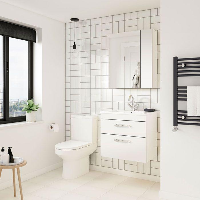 Minimalistliving Room Design Ideas: Opt For Plain White Tiles To Create A Simple, Minimalist