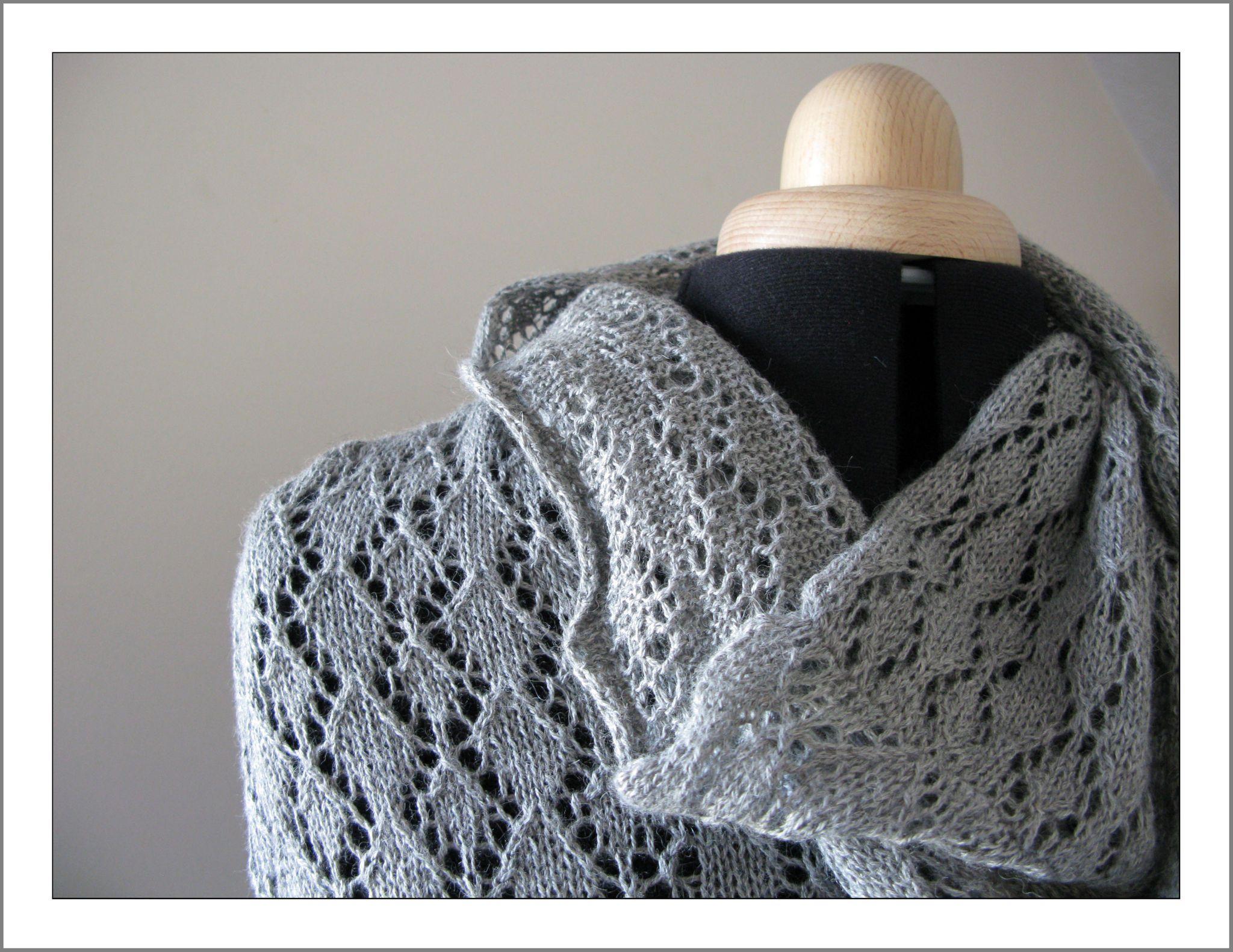 modèle tricot dentelle