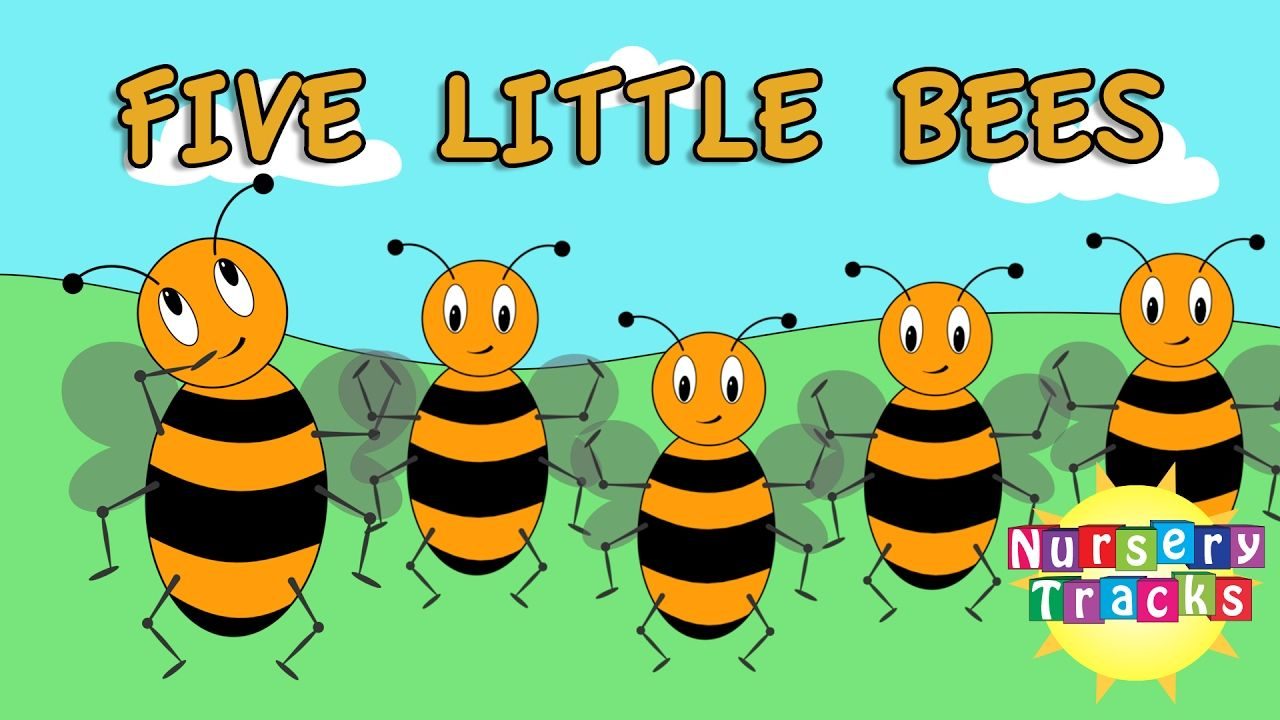 Five Little Bees Count to Ten Busy Bees