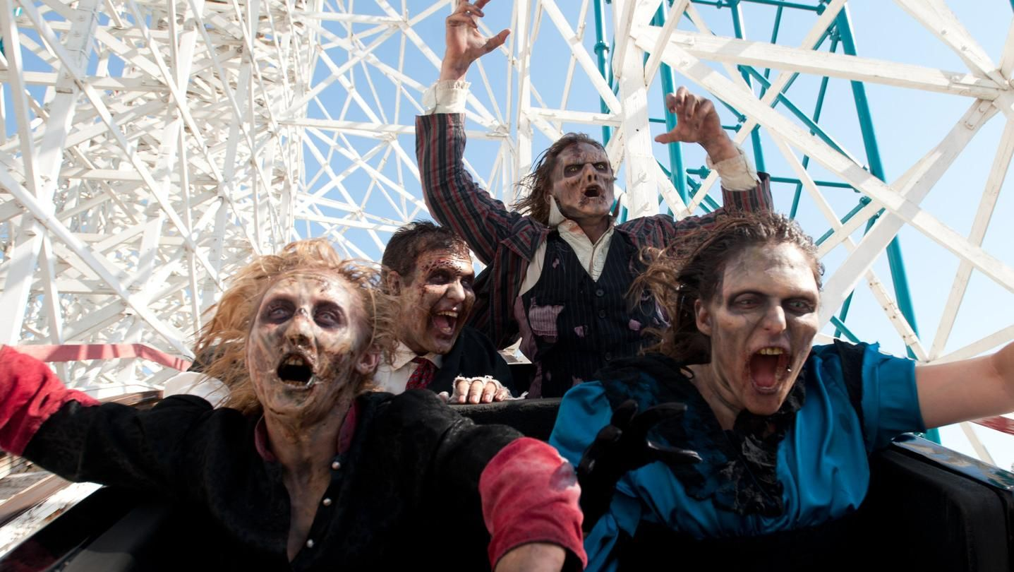 zumbi no six flags
