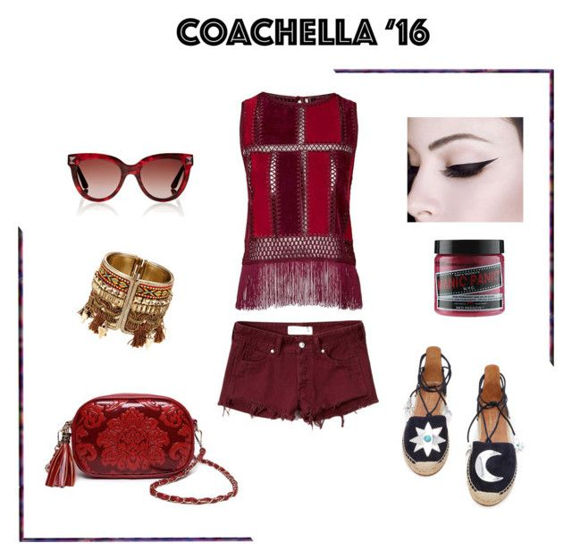 """"""":)"""" by irena-popovic ❤ liked on Polyvore featuring Abercrombie & Fitch, Topshop, Aquazzura, Valentino and Manic Panic"""