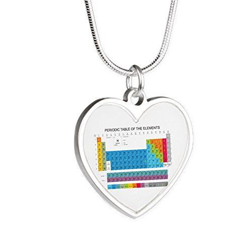 Royal lion silver heart necklace classroom periodic table of royal lion silver heart necklace classroom periodic table of elements urtaz Image collections
