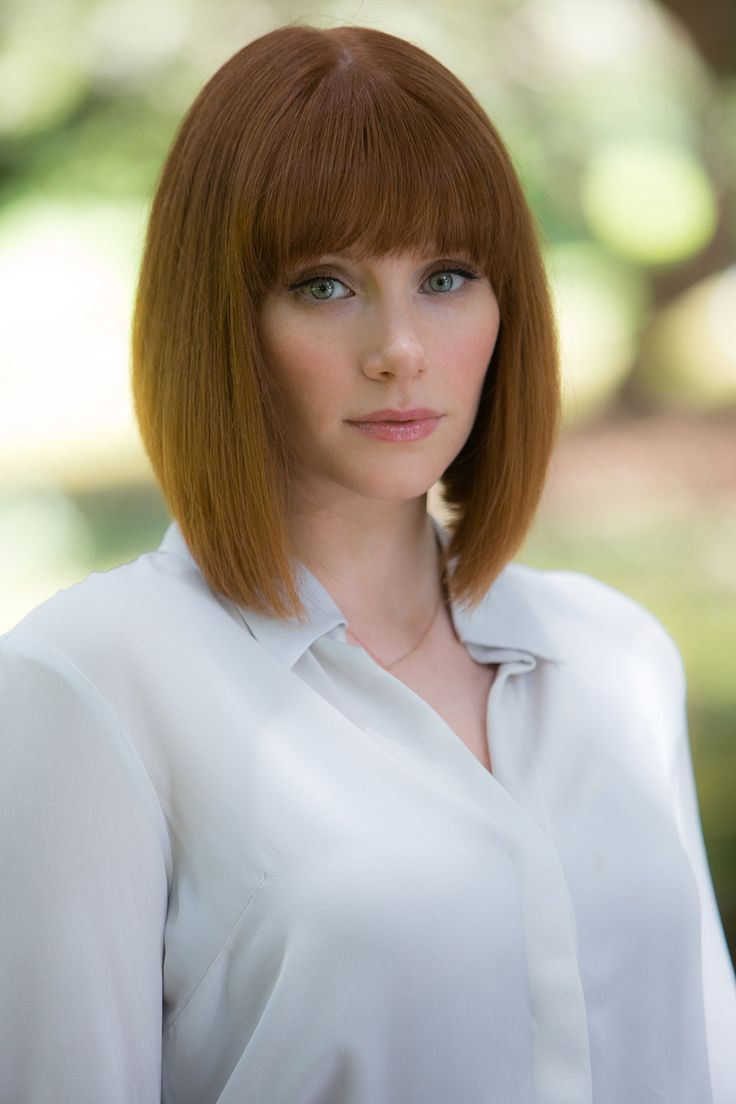 Cut Claire JurassicWorld Beautiful red u ginger hair Pinterest
