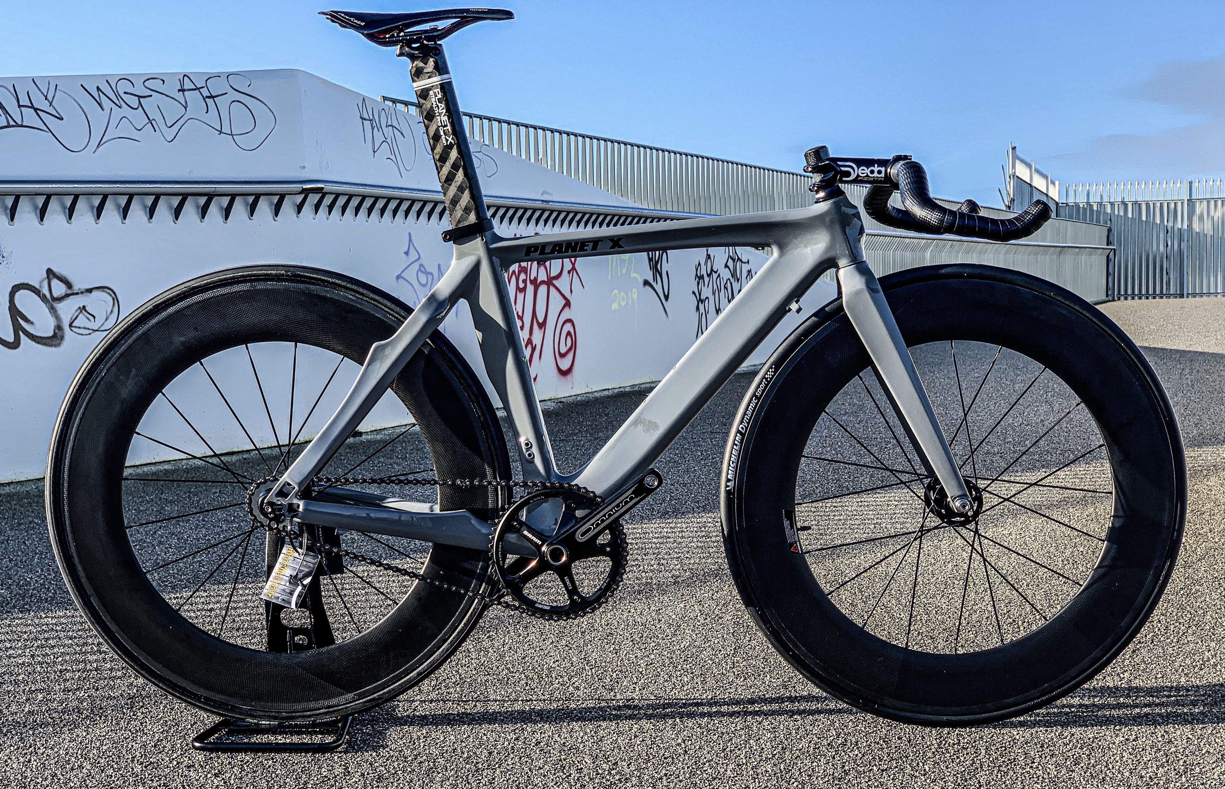 Nardo Grey Planet X Pro Carbon Bike Shop Bicycle Bike