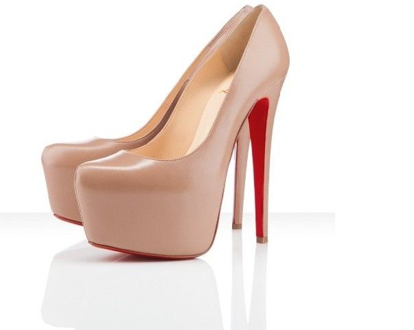 Every girl should have at least one pair of red bottom shoes!