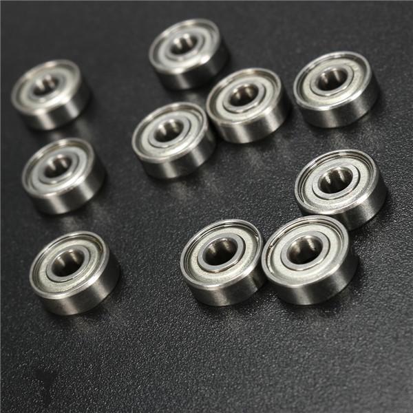10pcs 694ZZ 4x11x4mm Ball Bearings Deep Groove Double Shielded Miniature Ball Be