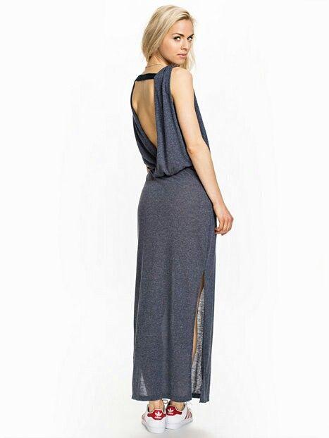 Blue/grey casual dress