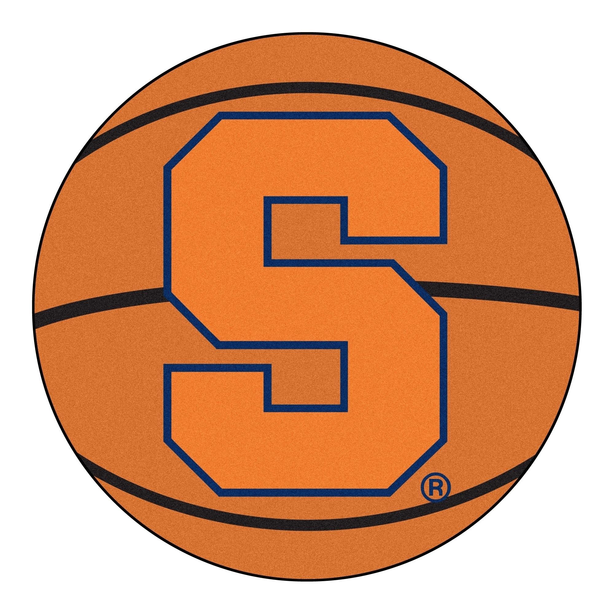 Fanmats Syracuse University Basketball Mat Ball Mat 27
