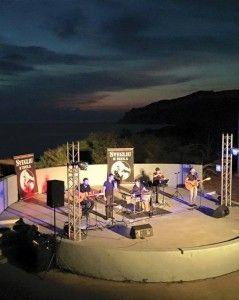 Concert de Svegliu d'Isula dans le Théâtre romain du festival de musique Paese di Live à Ajaccio en Corse du Sud