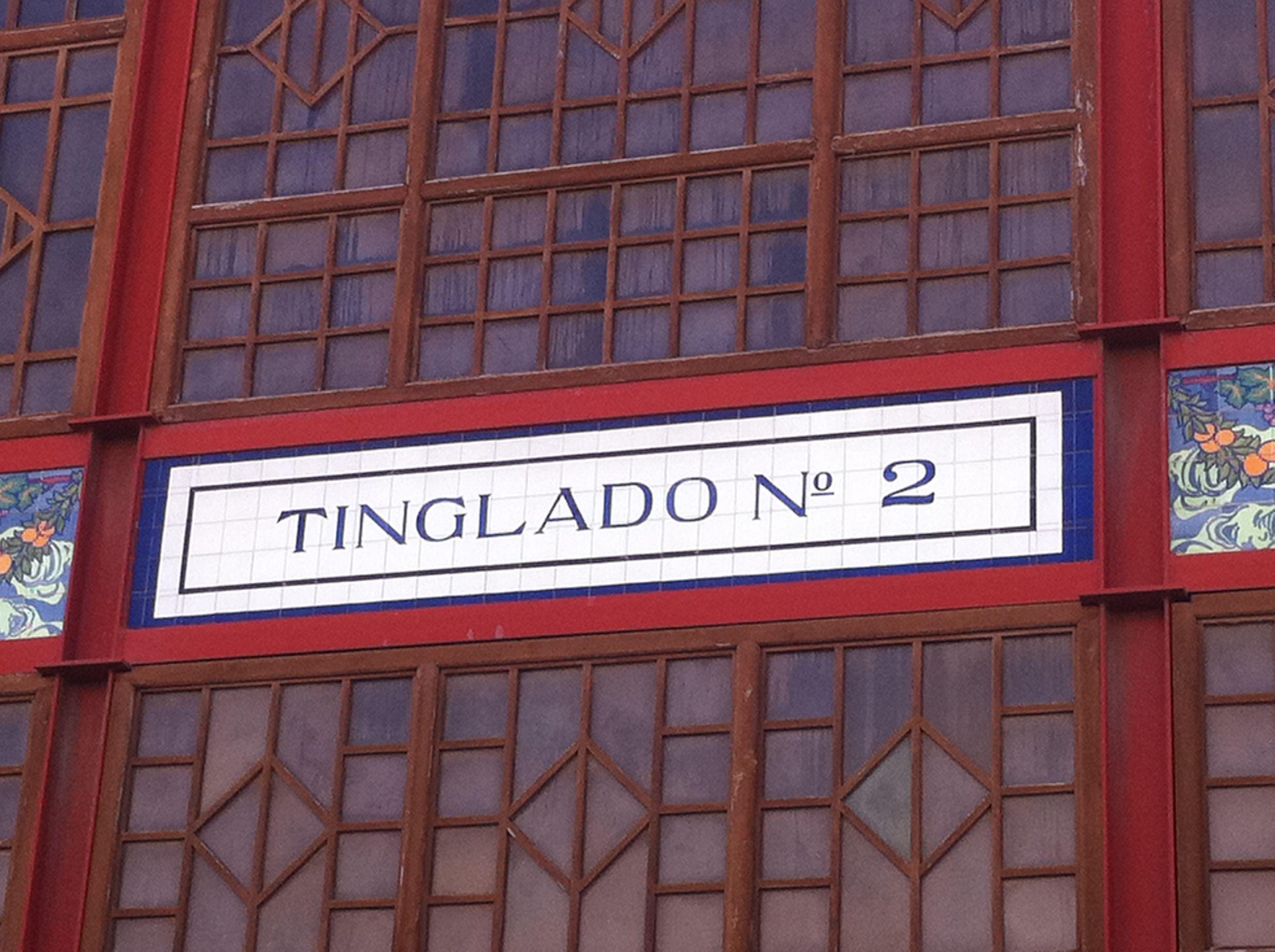 Tinglado (en el puerto de Valencia).