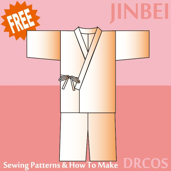 Jinbei Sewing Patterns & How To Make
