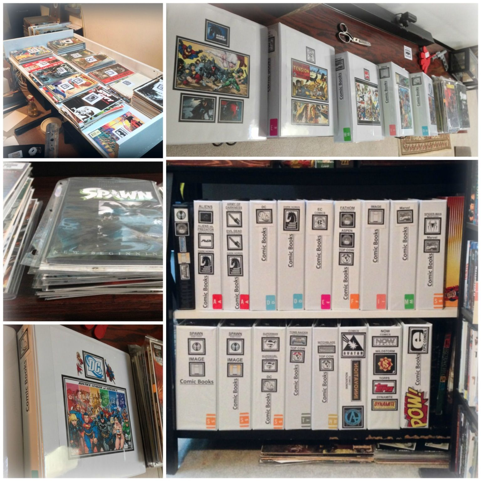 Comic book problems how to store and organize i