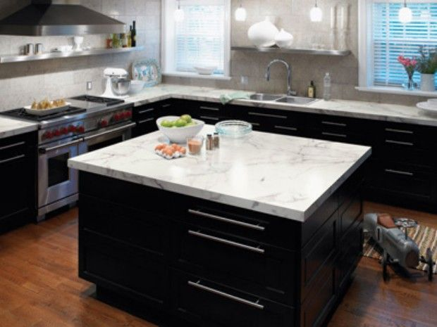 Calacatta Marble Formica Counters For The Home Kitchen