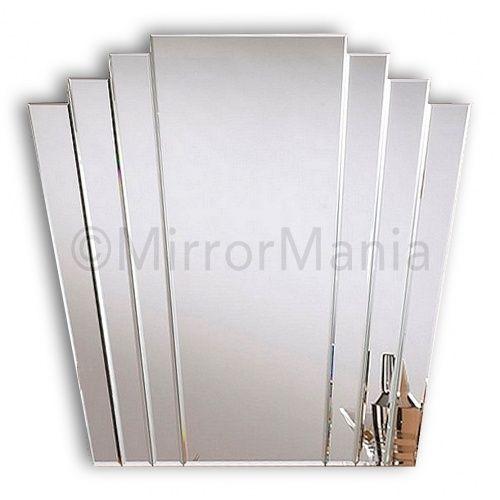 Trinity Art Deco Fan Mirror