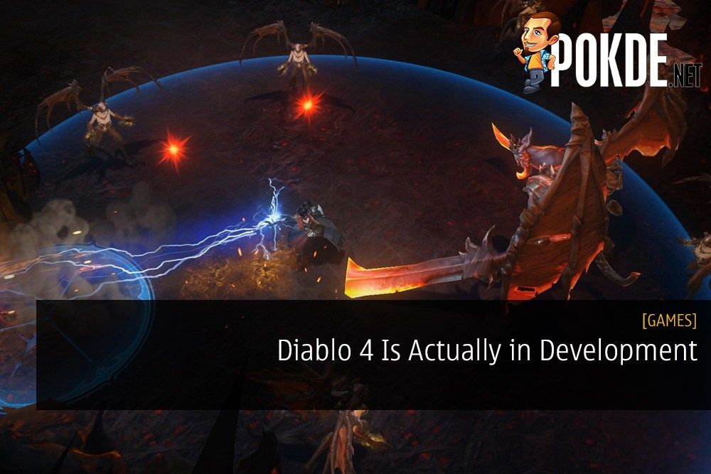 Diablo 4 Is Actually in Development - Blizzard May Have Cut