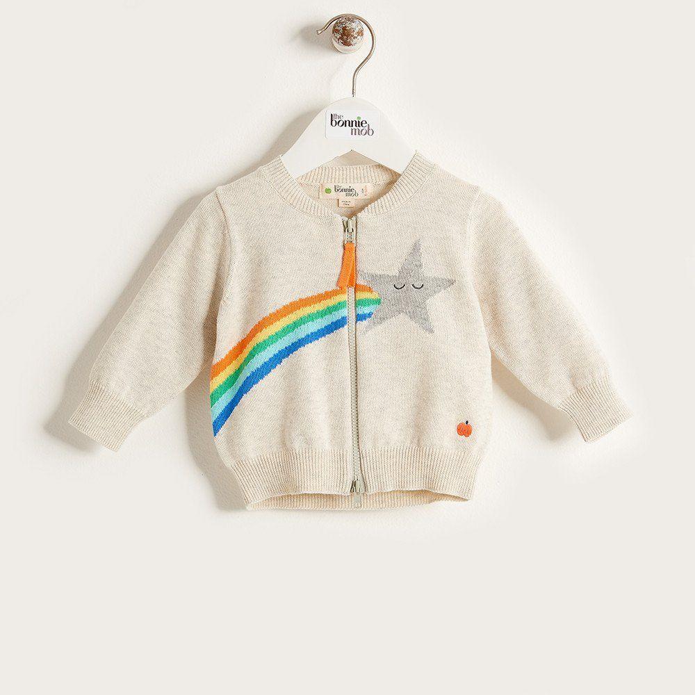 STARR Unisex Baby Organic Cotton Star Cardigan - Rainbow   FESTIVE ...