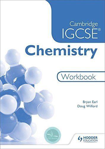 Cambridge Igcse Chemistry Workbook Cambridge Igcse Materials Chemistry Chemistry Lessons
