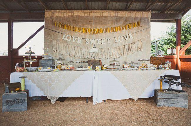 Canadian Barn Wedding: Amy + David