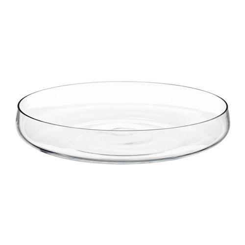 Berakna Bowl Clear Glass Ikea Clear Glass Decorative Bowls Ikea