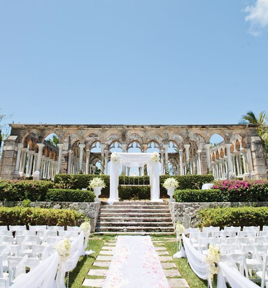 A glamorous destination wedding in the bahamas bahamas destination wedding this is exactly what i want junglespirit Gallery