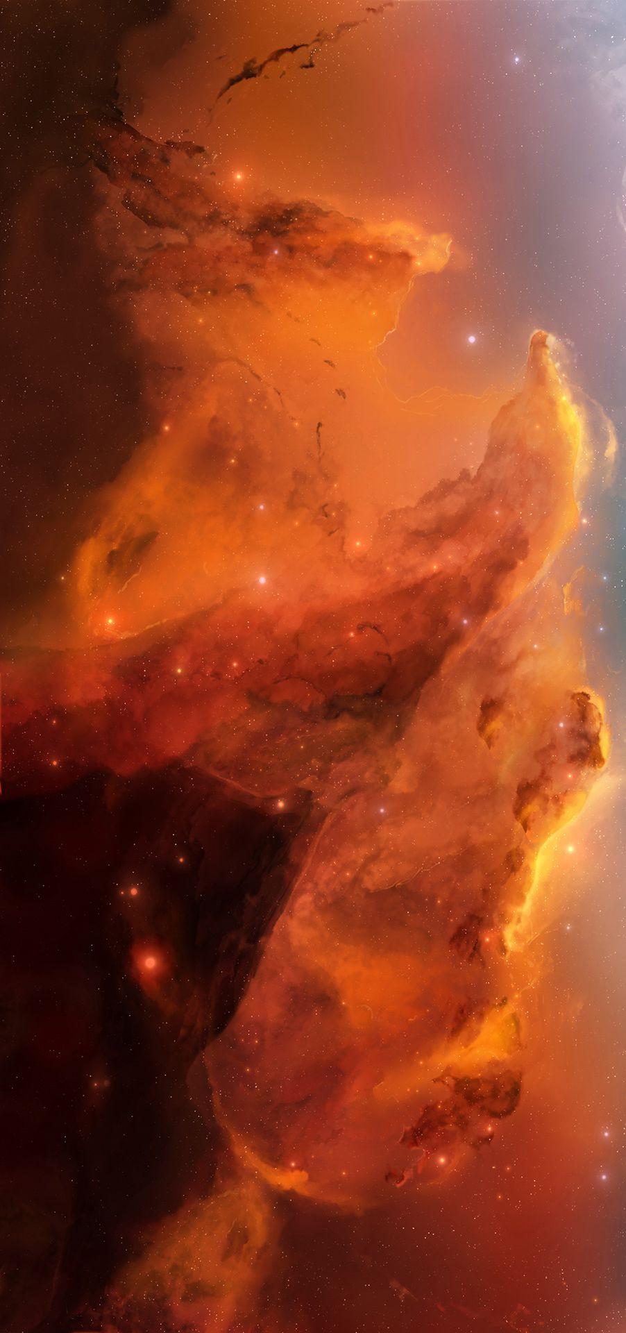 25++ Orange nebula info