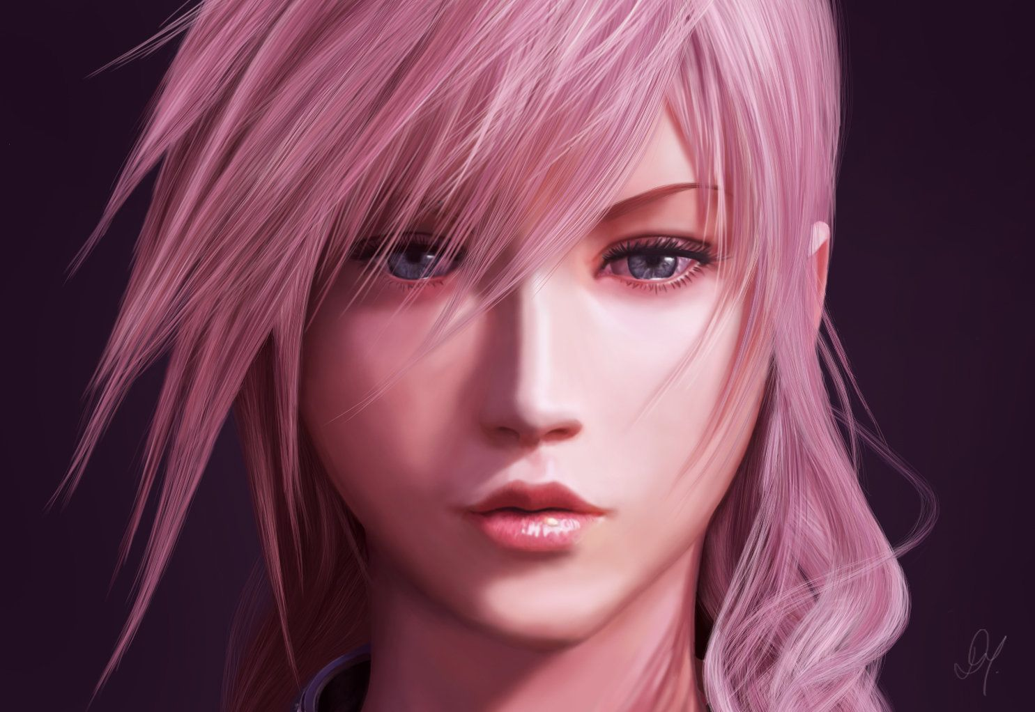 Lightning - Final Fantasy XXIII, Day Montenegro on ArtStation at https://www.artstation.com/artwork/lightning-final-fantasy-xxiii