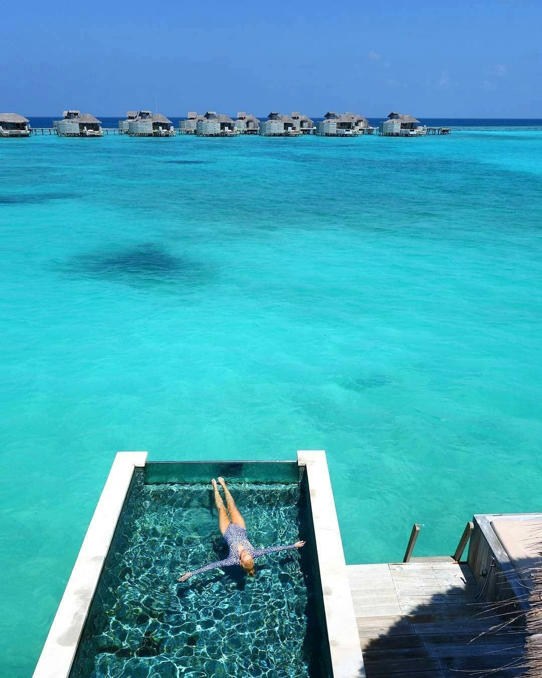 Perfect Dreamy Waterside Pool At The Overwater Bungalows At Six Senses Laamu In The  Tropical Paradise That Awesome Ideas