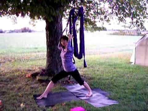 yoga swing instruction how to part 3 of 6 standing poses
