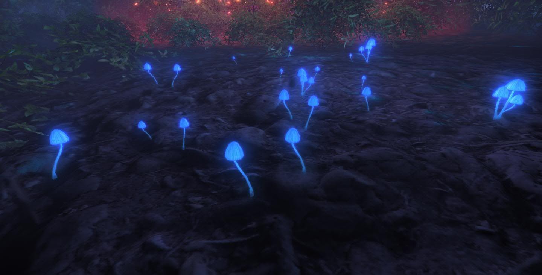 bioluminescent mushrooms - Google Search | green love ...