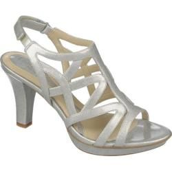 20685acd9 Women s Naturalizer Danya Soft Silver Crosshatch Shiny Patent - Overstock™  Shopping - Great Deals on Naturalizer Heels