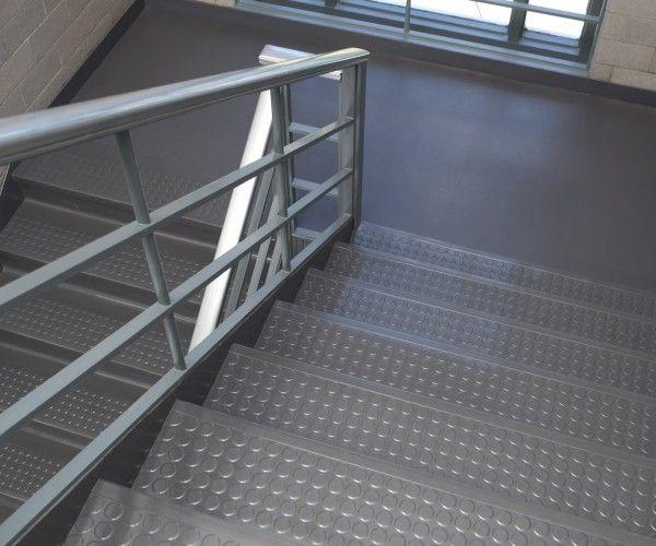 Stair Treads Flextone Gray G2 Gallery Store Rennovation