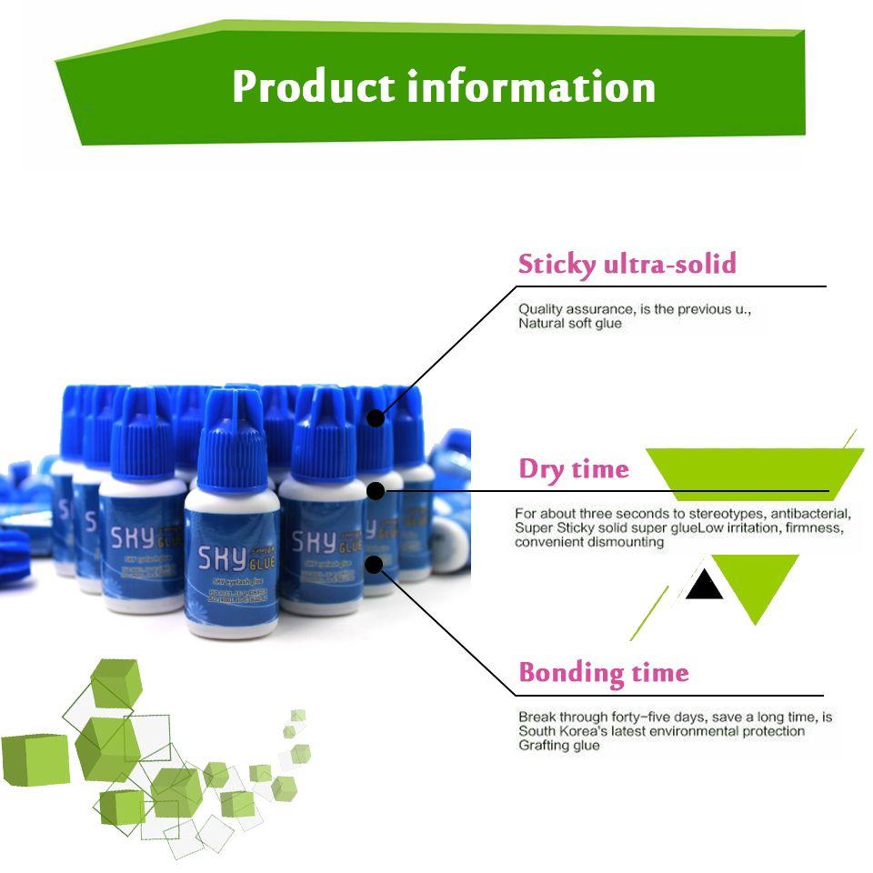 Sky Glue For Eyelash Extension Individual Eyelash Extension Glue