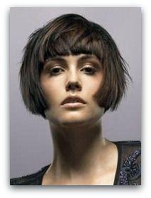 modern day 1920 bob short hair