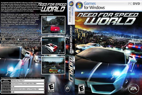Need For Speed World Gameplay Pc Need For Speed World Electronic