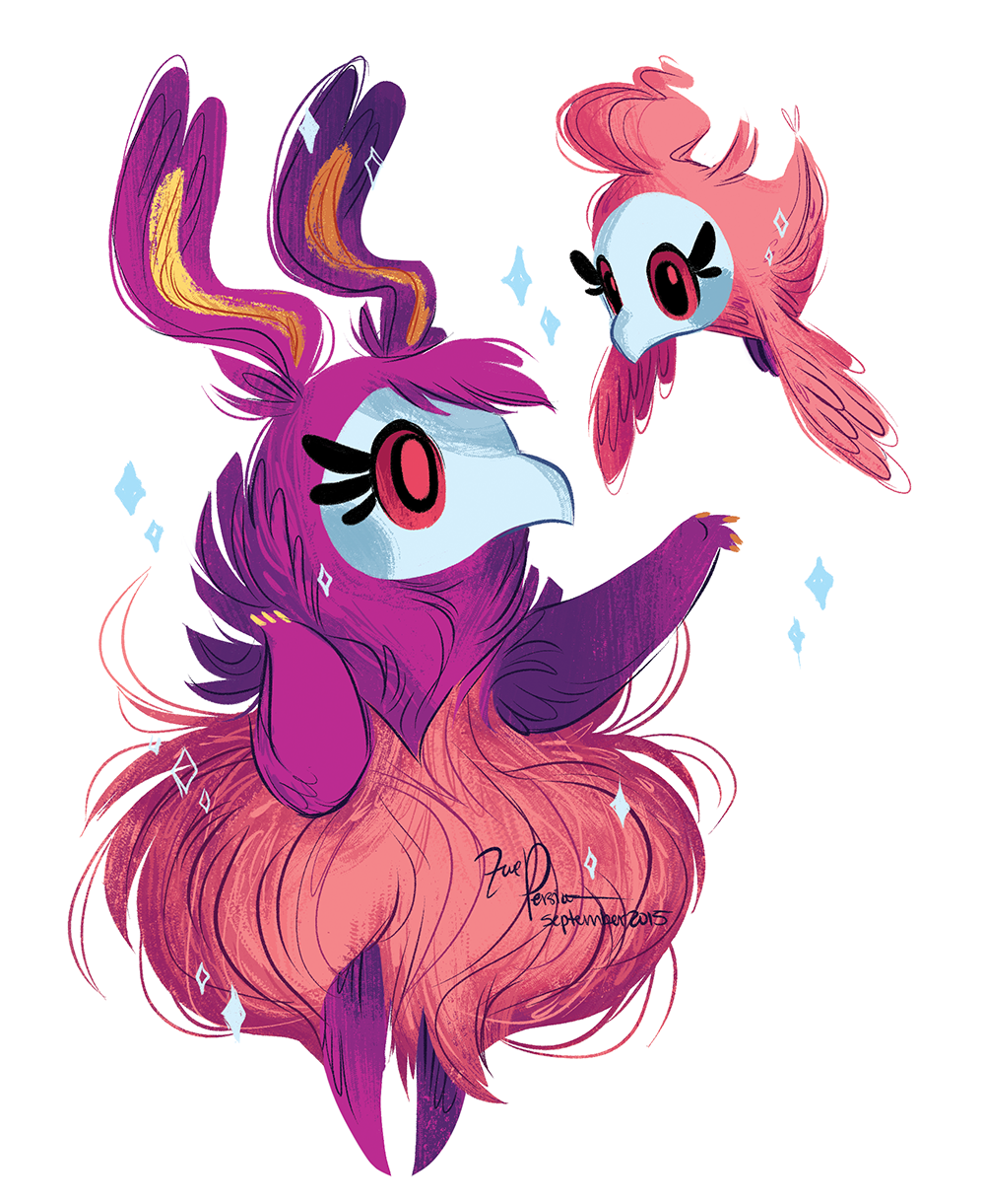 Painted my two favorite Pokemon, Spritzee and... | P O K E ...
