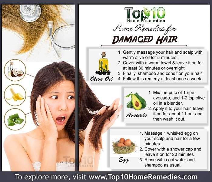 Home Remedies for Damaged Hair | Home Remedies