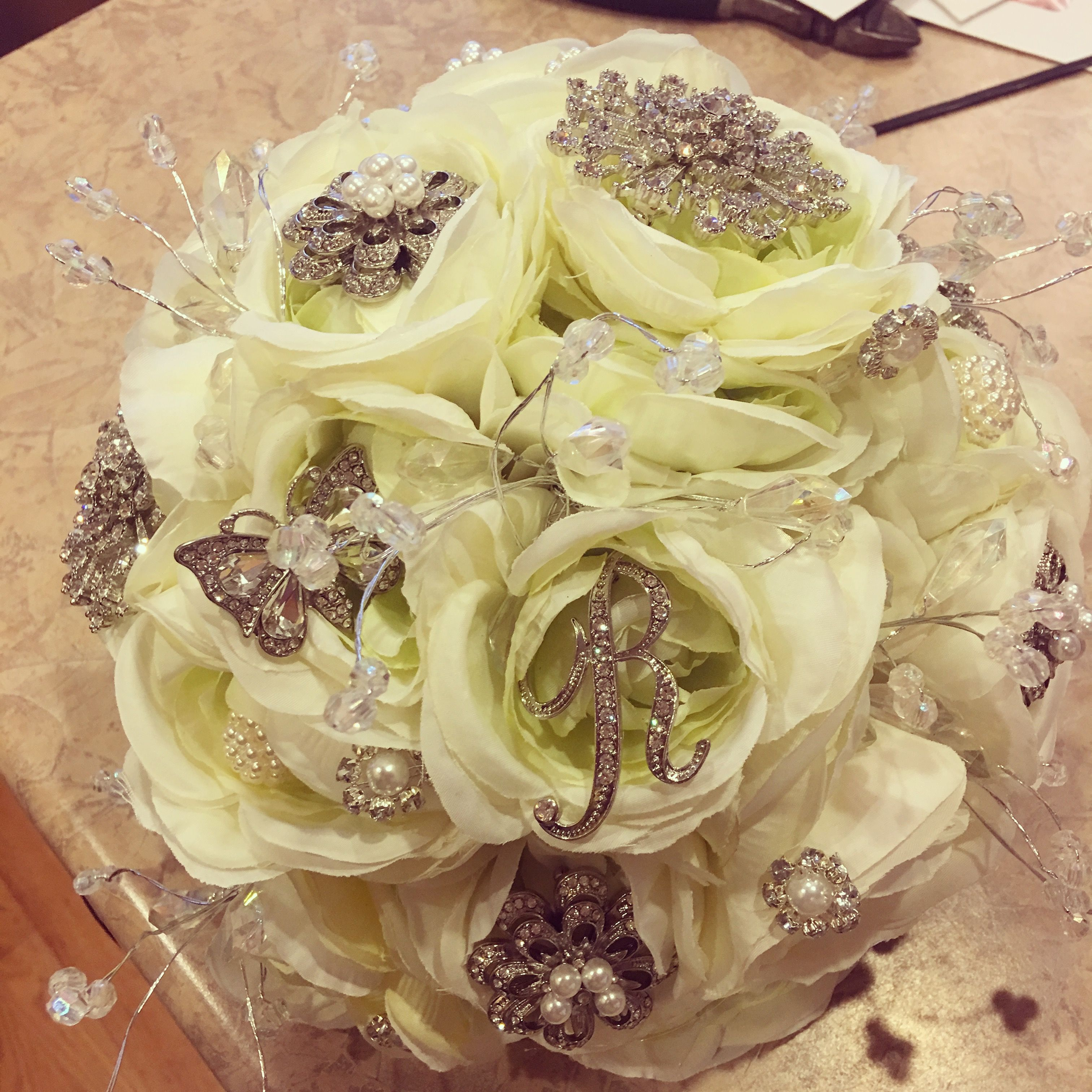 Delicate bouquet for my moms 50th wedding anniversary. | Flower ...