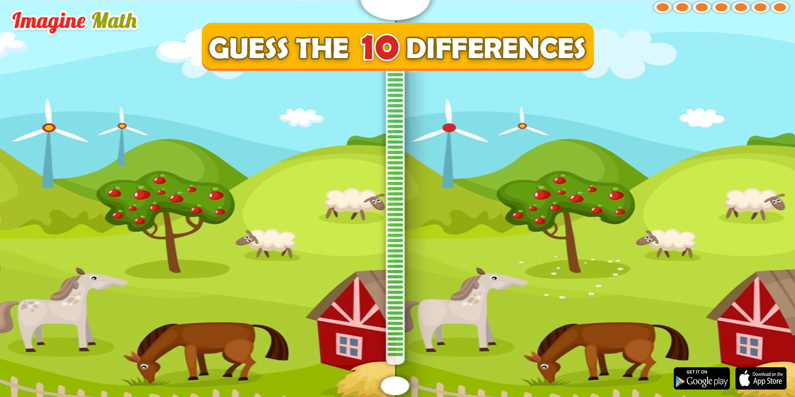 Find 10 Differences Between Two Pictures Imaginemath